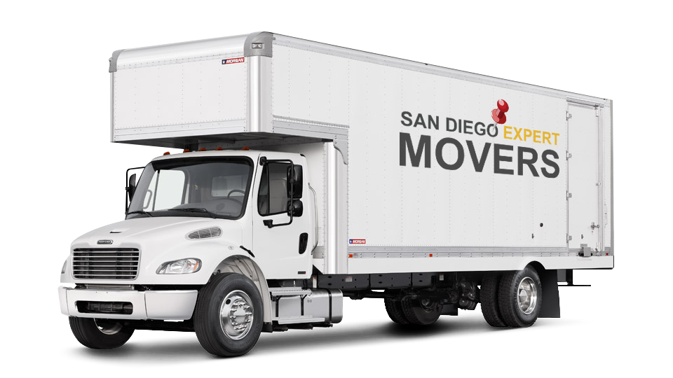 San Diego Movers moving truck